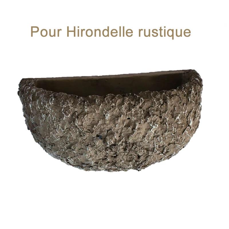 Nichoir pour Hirondelle rustique en Polyrésine